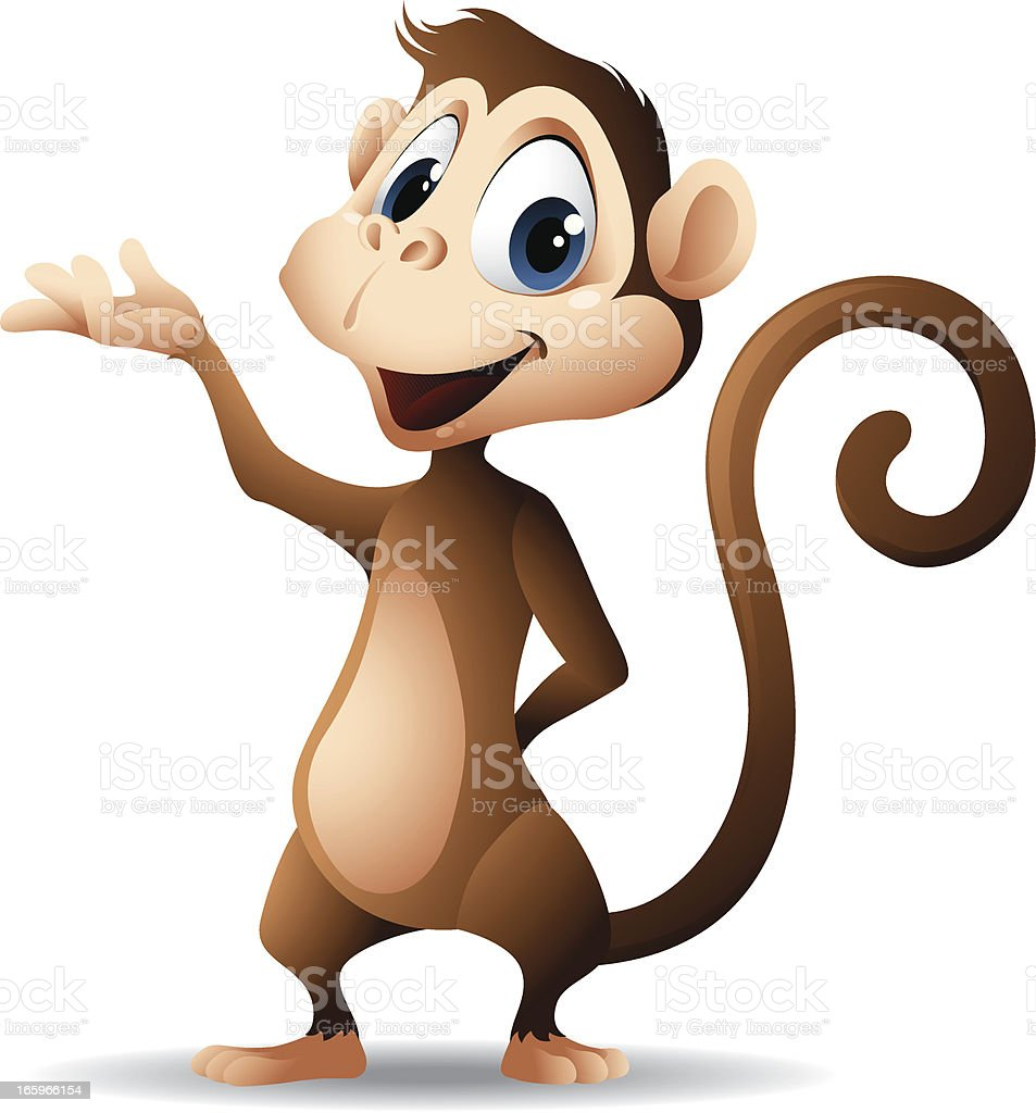 Monkey – Vektorgrafik