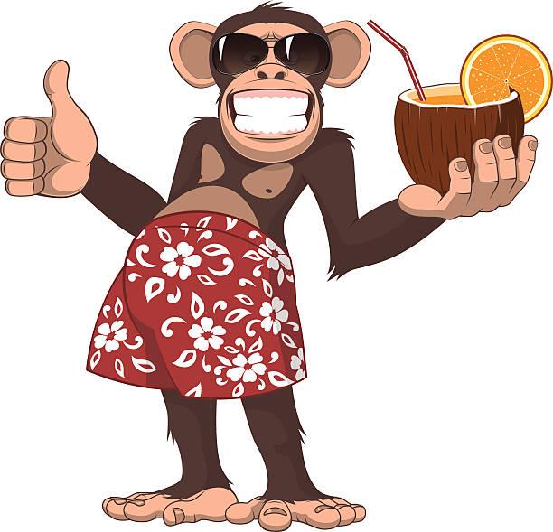 dance monkey illustrations royalty vector graphics clip art istock