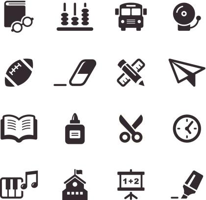 Mono Icons Set   Education