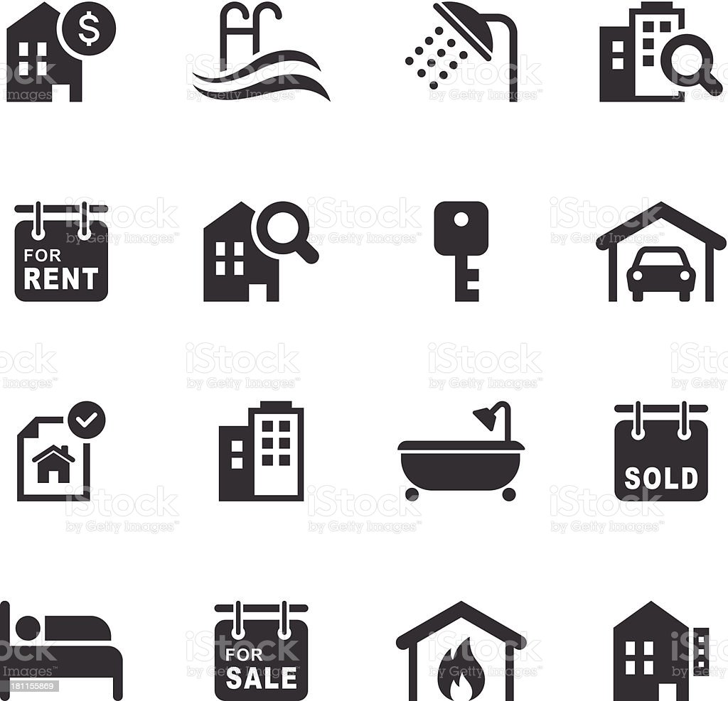 Mono icons set real estate stock vector art more images of mono icons set real estate royalty free mono icons set real estate stock vector biocorpaavc Image collections