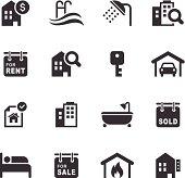 Mono Icons Set | Real Estate