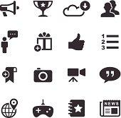 Mono Icons Set | Social Media