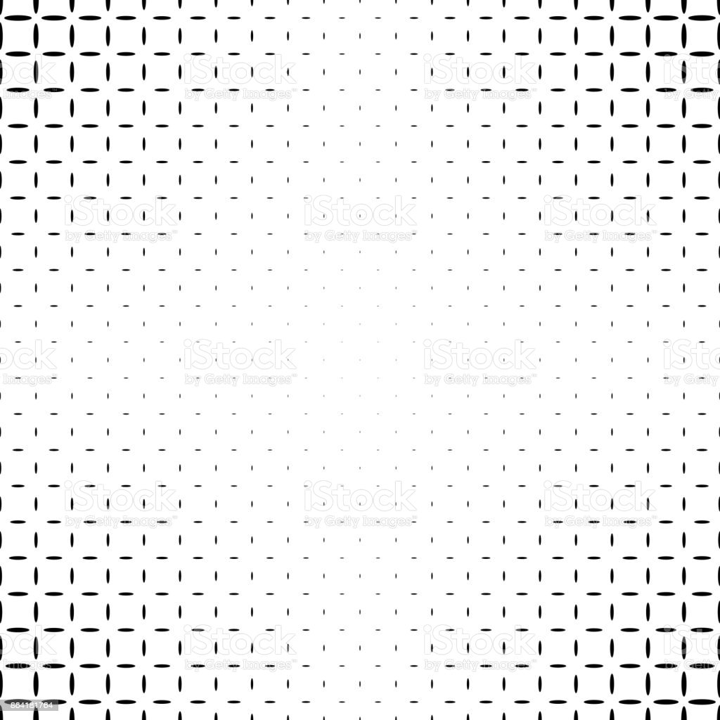 Monochromatic abstract ellipse pattern background - black and white geometric vector design royalty-free monochromatic abstract ellipse pattern background black and white geometric vector design stock vector art & more images of abstract