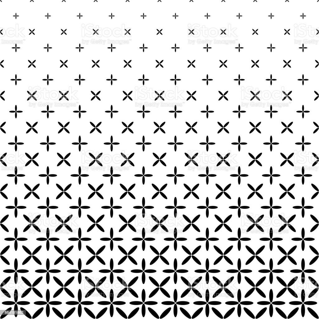 Monochrome abstract ellipse pattern background - black and white geometrical vector graphic royalty-free monochrome abstract ellipse pattern background black and white geometrical vector graphic stock vector art & more images of abstract