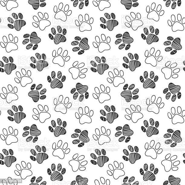 Monochrome black and white dog cat pet animal paw foot hand drawn ink vector id1011583734?b=1&k=6&m=1011583734&s=612x612&h=zu cmkv1 smfsbcwt1ie ztvrfwuzcpscpbdj1jqzow=