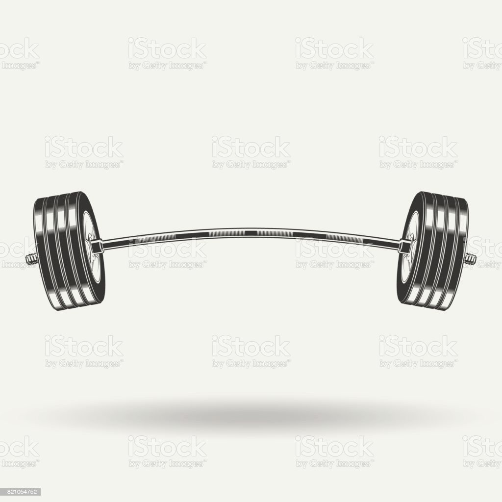 monochrome fitness icon