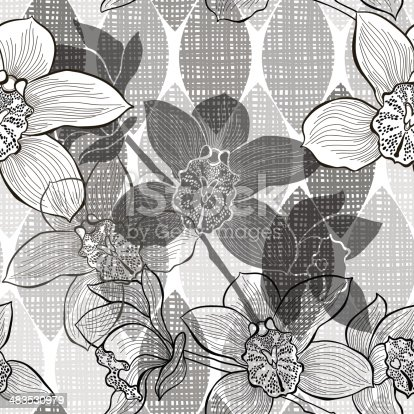 Endless backgrounds with orchids.