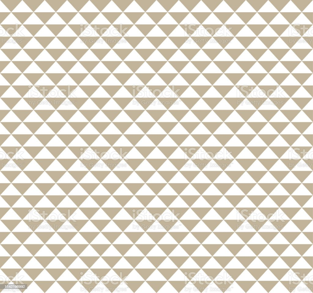 Monochrome Hawaiian Triangle Tattoo Pattern Background Stock