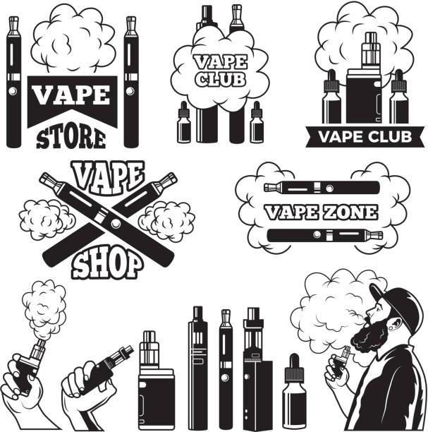 Best E Cigarette Illustrations, Royalty-Free Vector Graphics & Clip