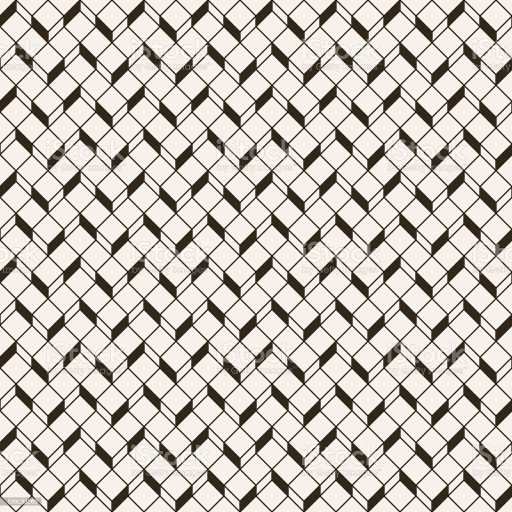 Monocromo patrón sin costuras ilustración de monocromo patrón sin costuras y más banco de imágenes de abstracto libre de derechos