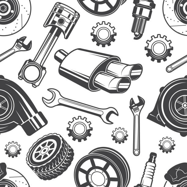 Royalty Free Spare Part Clip Art, Vector Images