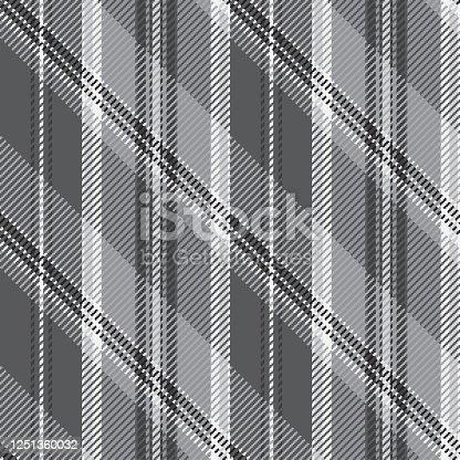 istock Monochrome seamless striped wallpaper. 1251360032
