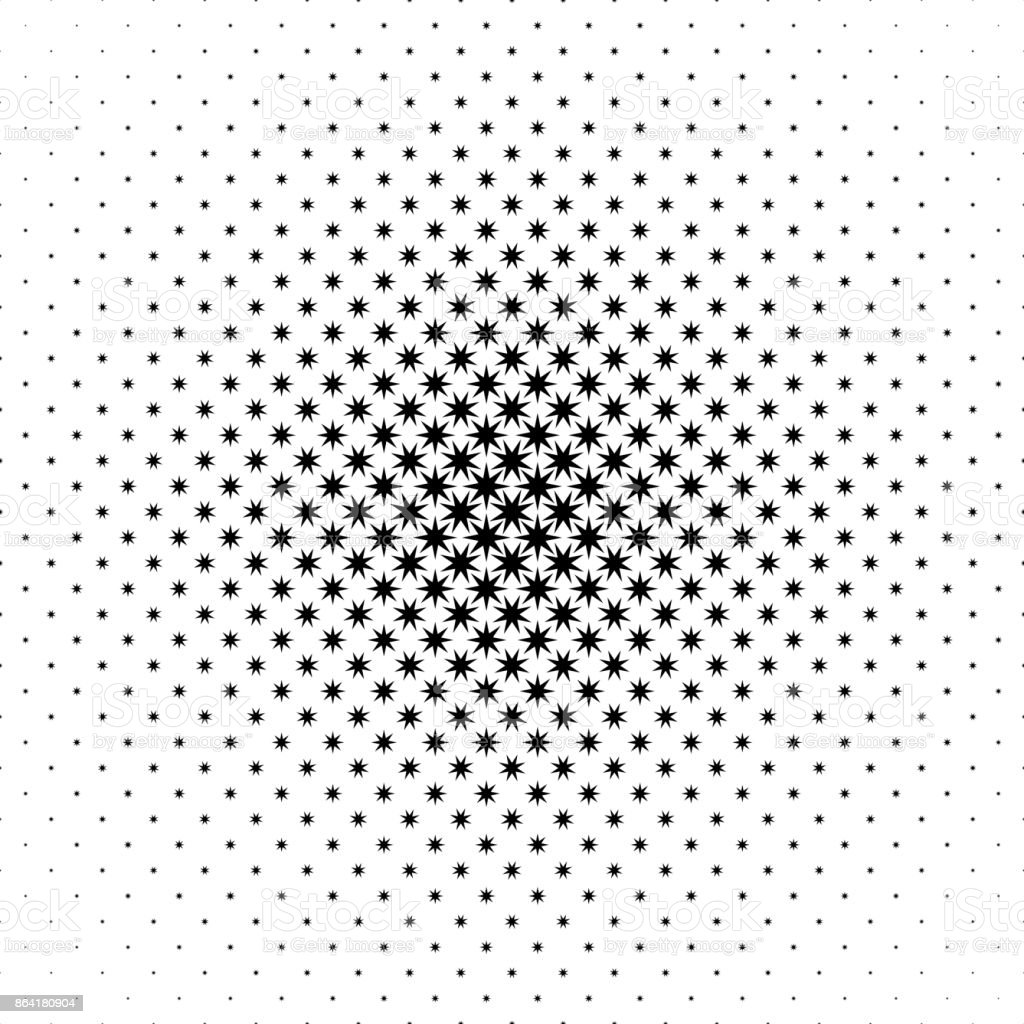 Monochrome star pattern - abstract vector background graphic from geometrical shapes royalty-free monochrome star pattern abstract vector background graphic from geometrical shapes stock vector art & more images of abstract
