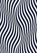 monochrome waves.