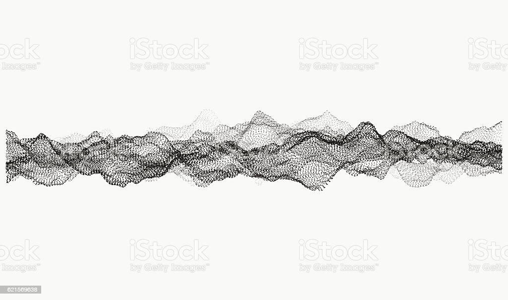 Monochrome wavy structure monochrome wavy structure – cliparts vectoriels et plus d'images de forme libre de droits