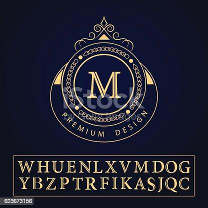 Istock Decorativo Inicial Letras A B C D 512882268 Istock El Escudo