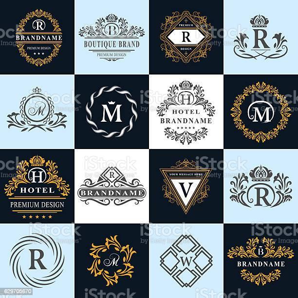 Monogram design elements graceful template english letters business vector id629705670?b=1&k=6&m=629705670&s=612x612&h=sq4g0fveinyontmump ck51tdex5bfory7p4drerg2m=