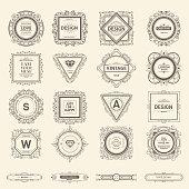 Monogram  luxury template