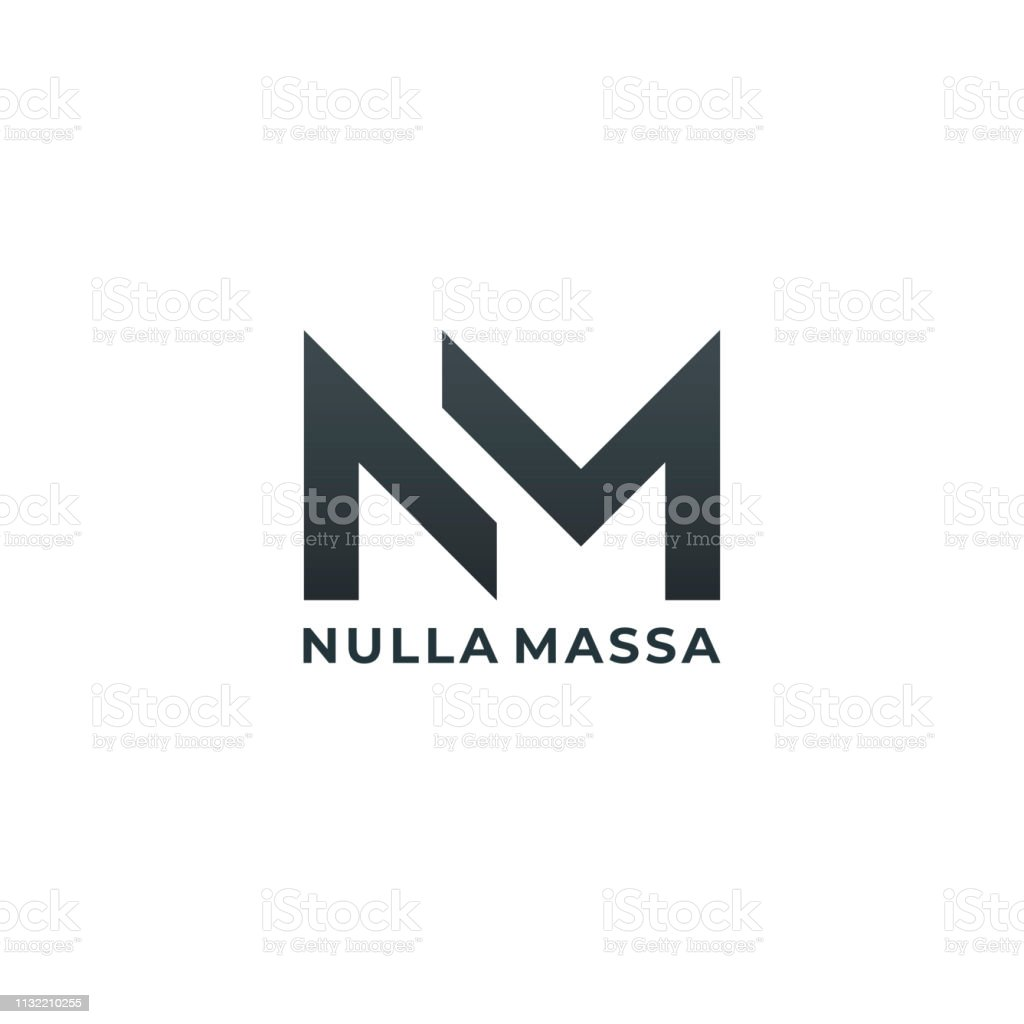 Nm Monogram Of Two Letters N M Luxury Simple Minimal And Elegant Nm Emblem Design Vector Illustration Template Stock Illustration Download Image Now Istock