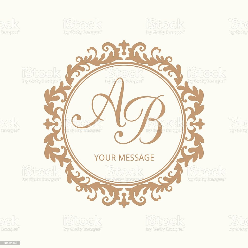 Wedding Monogram Free Template Images Template Design Ideas