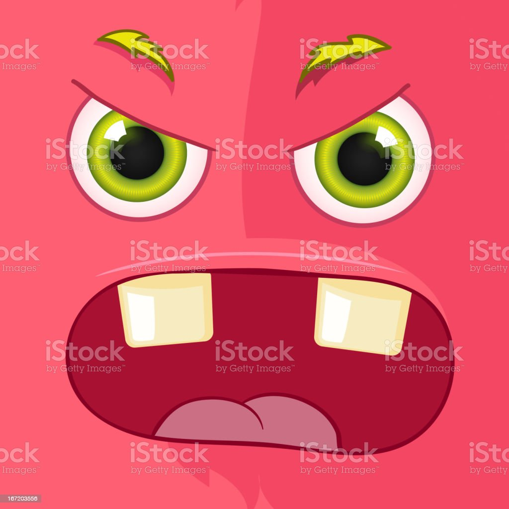 Monster Avatar royalty-free stock vector art