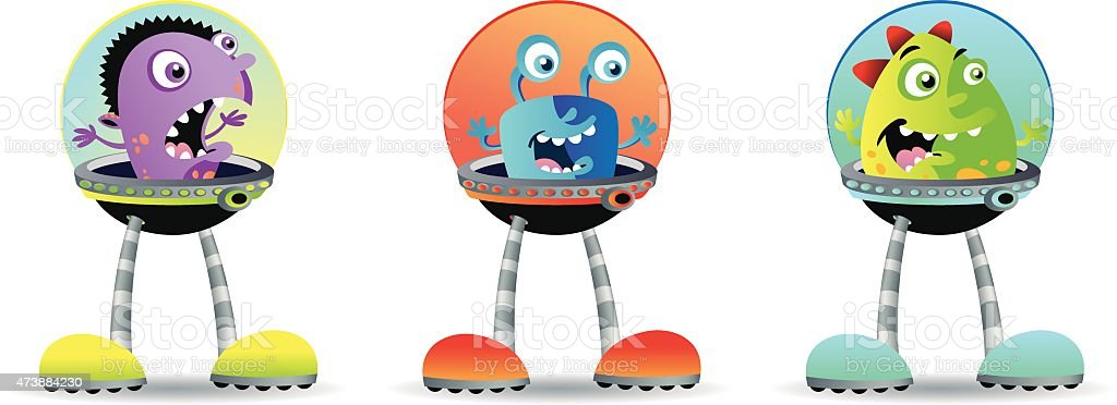 Monster bot royalty-free monster bot stock vector art & more images of 2015