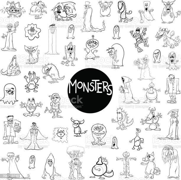 Monster characters big set vector id700713740?b=1&k=6&m=700713740&s=612x612&h=vs8bgt37 sap  pk2vualsbm0gkpnpyxt8bg5e6fxfu=