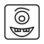 monster   creepy  emoji