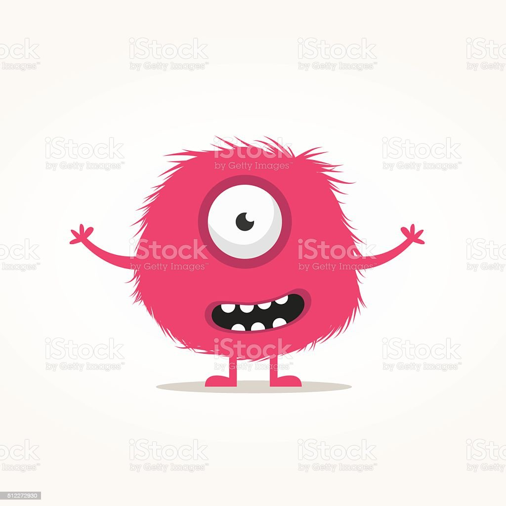 Monster illustration vector art illustration