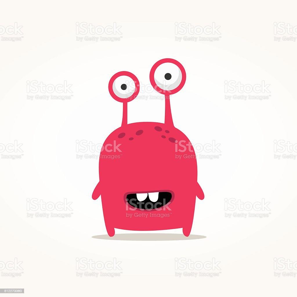 Monster illustration vector art illustration