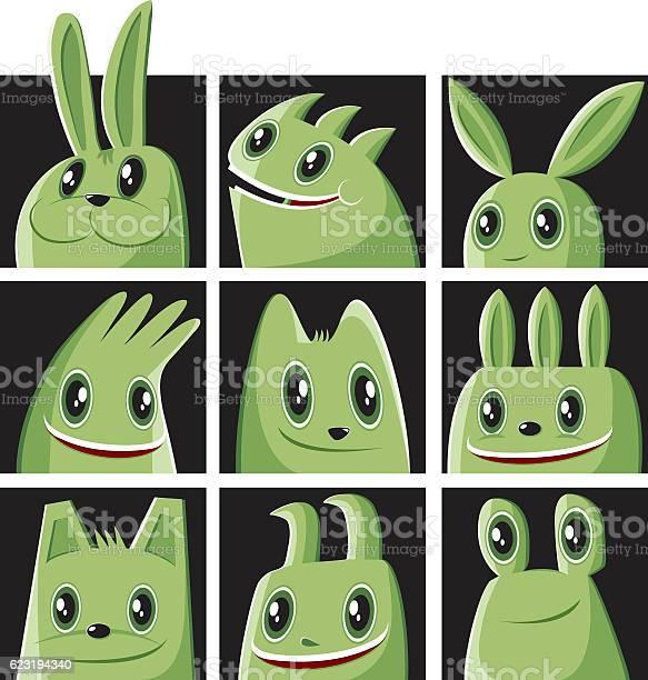 Monster set and a rabbit vector id623194340?b=1&k=6&m=623194340&s=612x612&h=n atqzugt9gnpsyxmn0821wzmrtb869nbasgnv4go30=