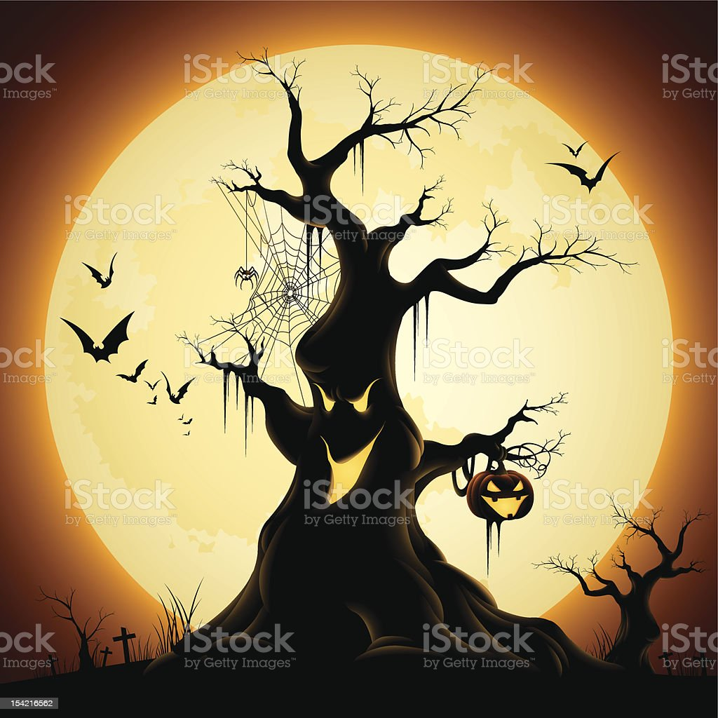 Monster Tree royalty-free monster tree stock vector art & more images of animal themes