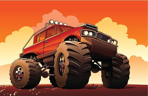Monster Truck Sport Car