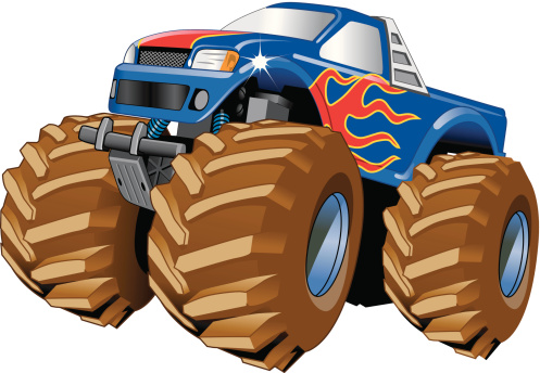 Monster Truck with big wheels