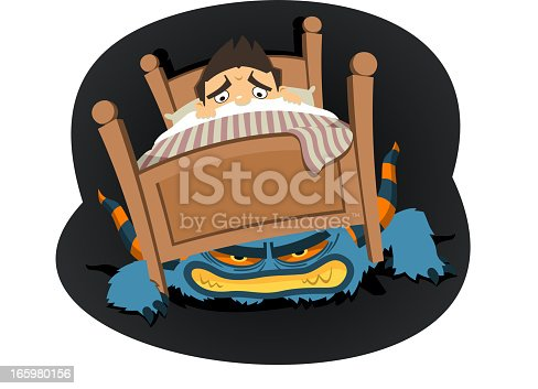 istock Monster Under the bed 165980156