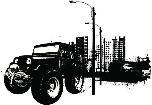 Monster urban 4x4