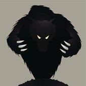 Monster, bear or werewolf.
