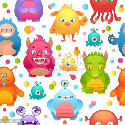 istock monsters seamless pattern 1 1201072550