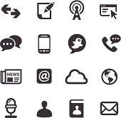 Communication Icons-Acme Series