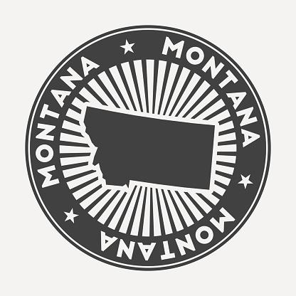 Montana round logo.