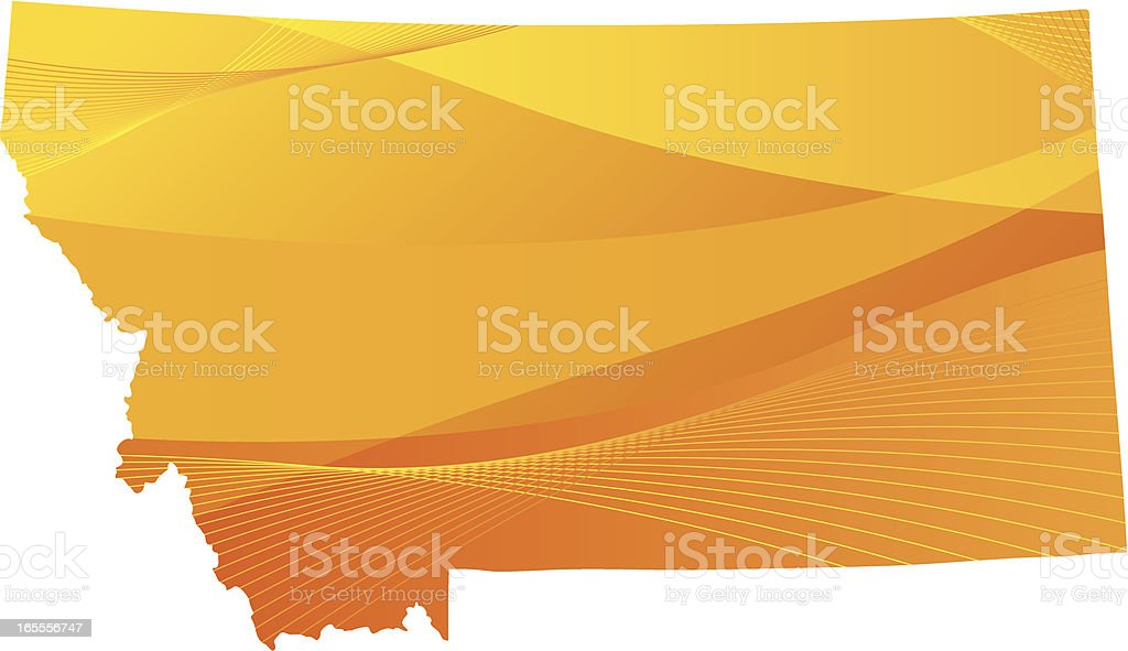 Montana royalty-free montana stock vector art & more images of country - geographic area