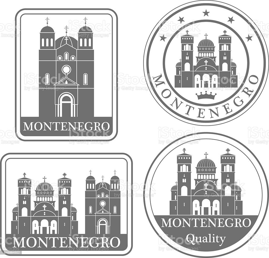 Montenegro vector art illustration