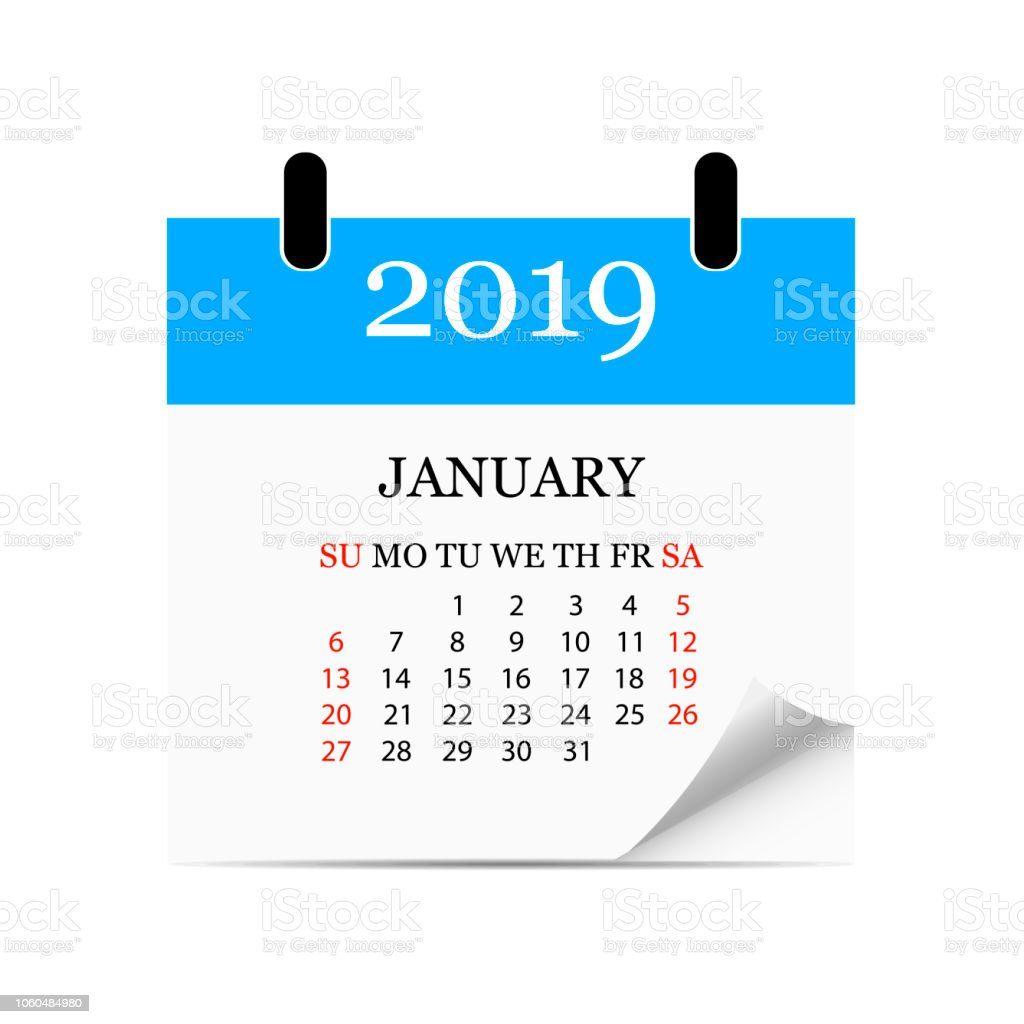 Image result for tear off a january calendar page