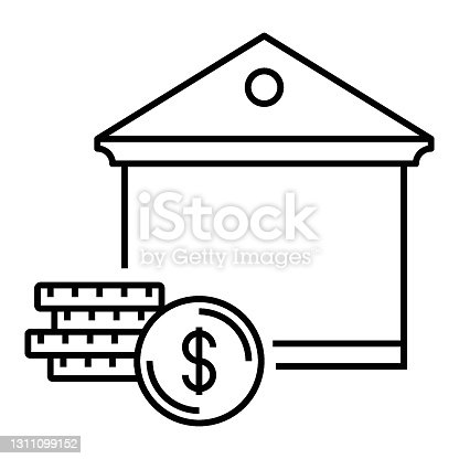 Monthly mortgage payment Concept, Home Loan Vector Icon design