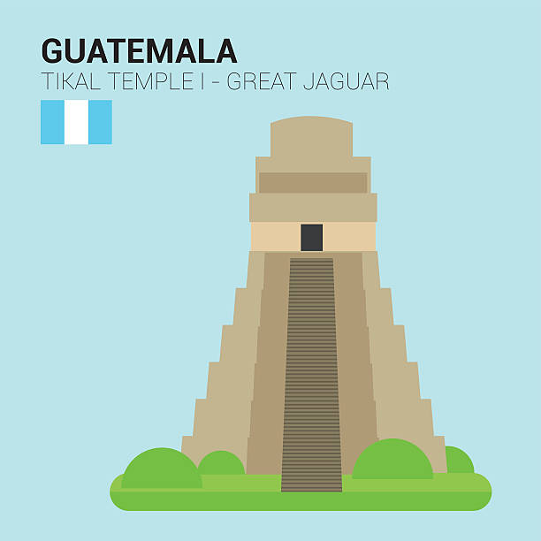 Royalty Free Tikal National Park Guatemala Clip Art ...