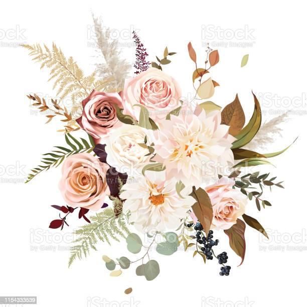 Moody boho chic wedding vector bouquet vector id1154333539?b=1&k=6&m=1154333539&s=612x612&h=2snz sj79smfdlgwptst ipypee2p4jdoiwgrsq9phc=