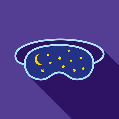 Moon And Stars Sleeping Mask