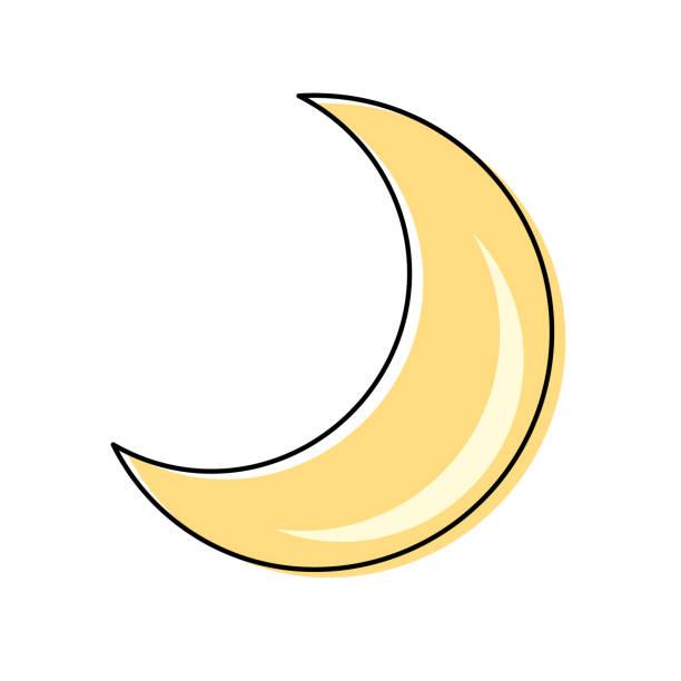 Quarter Moon Cartoon