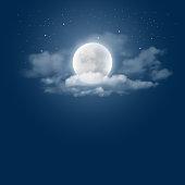 istock Moonlight night 529125694