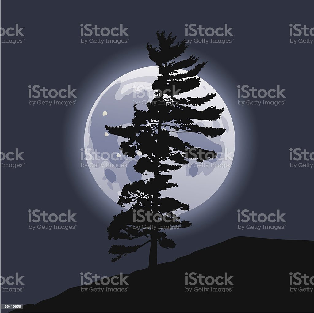 Moonrise royalty-free moonrise stock vector art & more images of beauty in nature